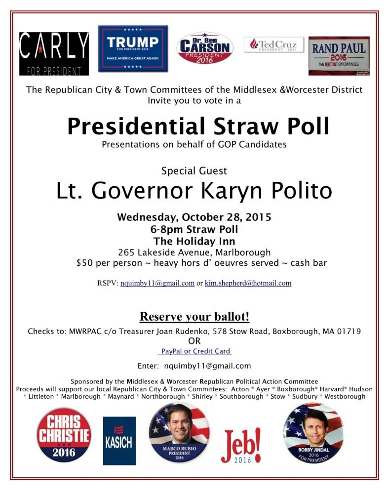 MWRPAC 2016 Straw Poll final